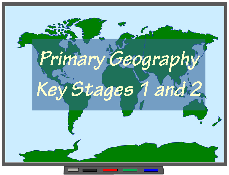 Primary Geography pages