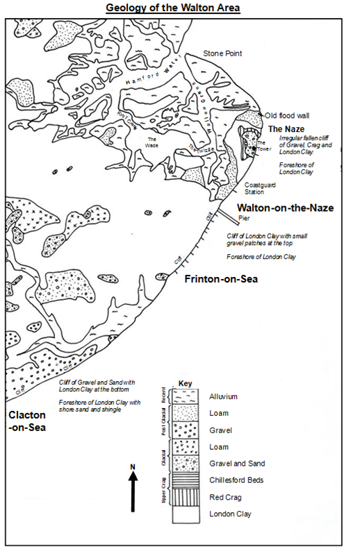 Geology of Walton